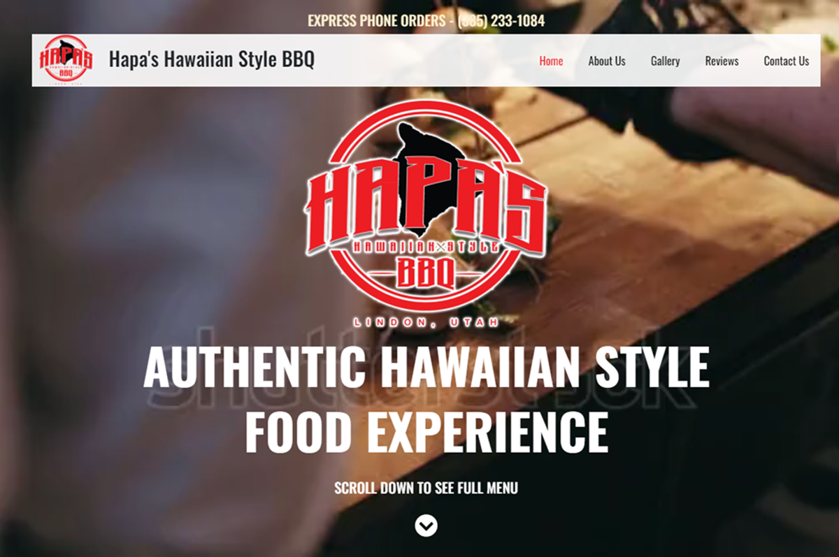 Hapa's Hawaiian Style BBQ